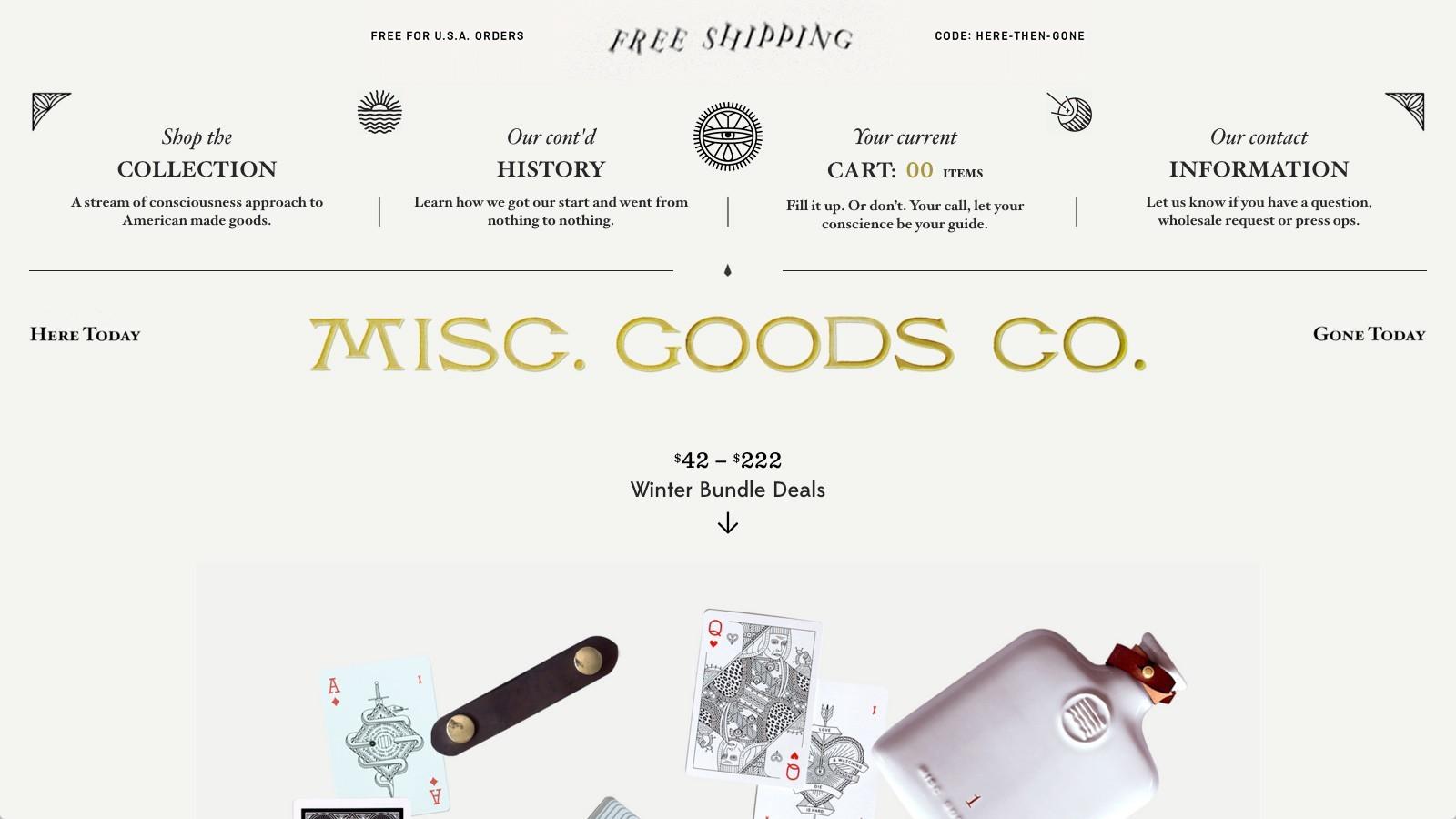 Misc Goods Co